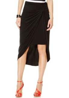 Inc International Concepts Draped High-Low Pencil Skirt