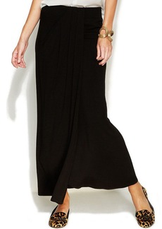 INC International Concepts Petite Draped Maxi Skirt