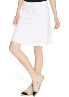 Inc International Concepts Drawstring-Waist A-Line Skirt
