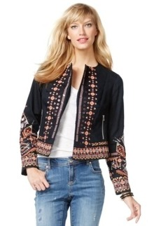 Inc International Concepts Embroidered Bomber Jacket, Only at Macy's