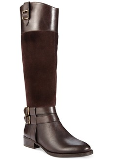 INC International Concepts Women's Fahnee Wide Calf Riding Boots