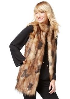 Inc International Concepts Petite Faux-Fur Vest