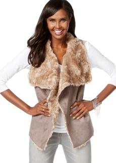 Inc International Concepts Faux-Shearling Vest