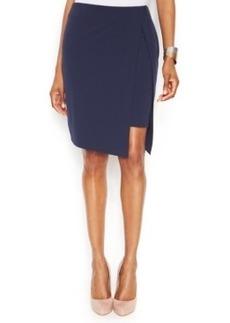 INC International Concepts Faux-Wrap Pencil Skirt
