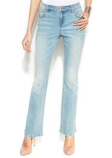 INC International Concepts Flared Jeans, Light Blue Wash