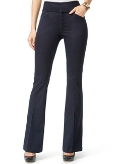 Inc International Concepts Flat-Front Flared Jeans, Dark Indigo Wash, Only at Macy's