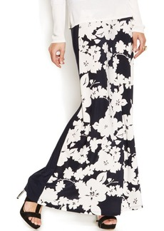INC International Concepts Floral-Print Maxi Skirt