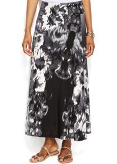 INC International Concepts Floral-Print Maxi Skirt