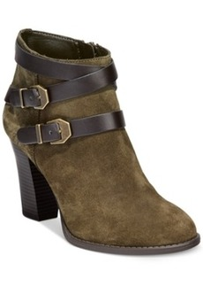 Inc International Concepts Jaydie Suede Booties Women's Shoes