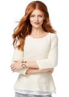 Inc International Concepts Layered-Look Sweater, Only at Macy's