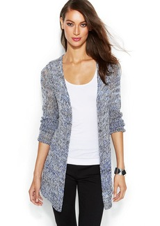 INC International Concepts Long-Sleeve Open-Knit Cardigan