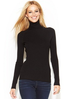 INC International Concepts Long-Sleeve Ribbed Turtleneck
