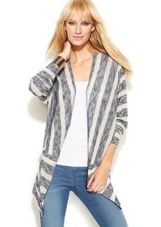 INC International Concepts Long-Sleeve Striped Cardigan