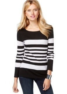 Inc International Concepts Long-Sleeve Striped Sweater, Only at Macy's