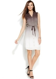 INC International Concepts Ombre Shirtdress