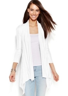 INC International Concepts Open-Front Illusion Cardigan