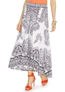 Inc International Concepts Paisley-Print Maxi Skirt
