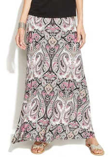 INC International Concepts Petite Paisley-Print Maxi Skirt