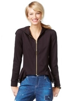 Inc International Concepts Peplum Hoodie, Only at Macy's