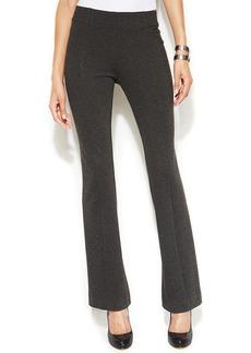 INC International Concepts Petite Bootcut Pull-On Pants