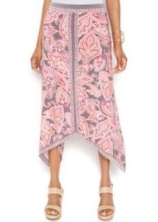 INC International Concepts Petite Paisley-Print Maxi Skirt