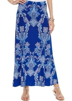 INC International Concepts Petite Printed Maxi Skirt