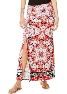 Inc International Concepts Petite Printed Side-Slit Maxi Skirt