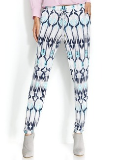 INC International Concepts Petite Printed Tapered-Leg Soft Pants