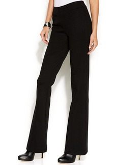 INC International Concepts Curvy-Fit Ponte Bootcut Pants