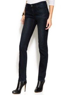 INC International Concepts Petite Skinny Jeans, Dark Wash