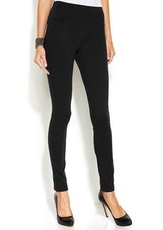 INC International Concepts Skinny-Leg Pull-On Ponte Pants