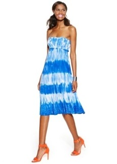 Inc International Concepts Petite Tie-Dye Convertible Maxi Skirt