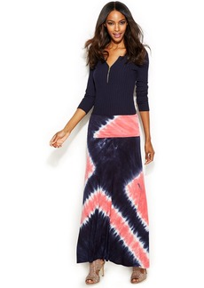 INC International Concepts Petite Tie-Dye Maxi Skirt