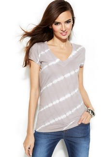 INC International Concepts Petite Tie-Dye Studded Top