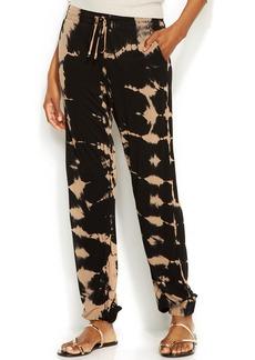 INC International Concepts Petite Tie-Dye Tapered-Leg Soft Pants