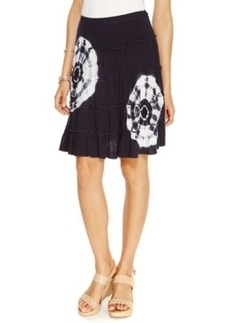 Inc International Concepts Petite Tiered Tie-Dye Skirt