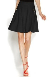 INC International Concepts Pleated A-Line Skirt
