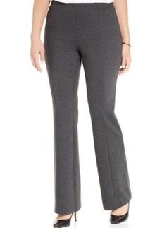 Inc International Concepts Plus Size Ponte Bootcut Pants
