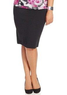 Inc International Concepts Plus Size High-Waist Pencil Skirt