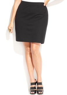 INC International Concepts Plus Size Pencil Skirt
