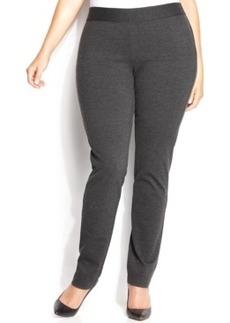 Inc International Concepts Plus Size Pull-On Skinny Ponte Pants