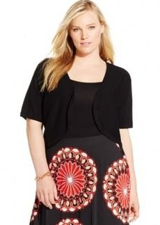 Inc International Concepts Plus Size Short-Sleeve Bolero