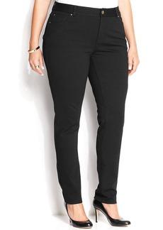INC International Concepts Plus Size Skinny Ponte Pants