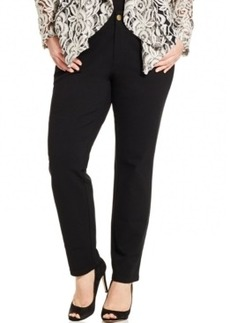 Inc International Concepts Plus Size Skinny Ponte Pants, Only at Macy's