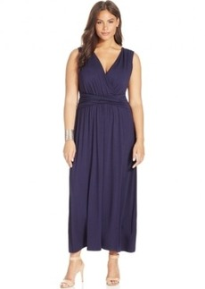 INC International Concepts Plus Size Sleeveless Maxi Dress