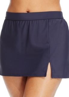 Inc International Concepts Plus Size Slit Swim Skirt Women's Swimsuit