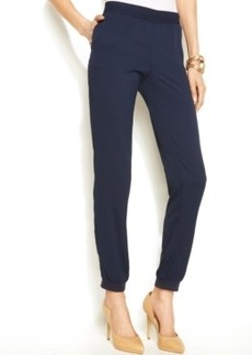 INC International Concepts Plus Size Soft Tapered Jogger Pants