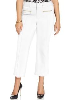 Inc International Concepts Plus Size Zip-Pocket Cropped Pants