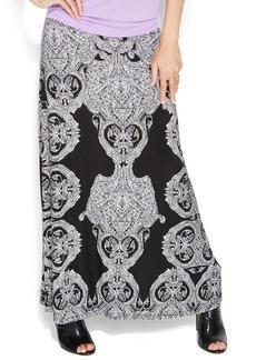 INC International Concepts Printed Maxi Skirt