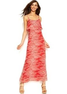 INC International Concepts Printed Popover Maxi Dress